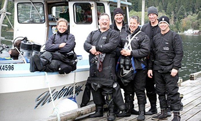 Oregon Underwater - Hazelwood: $25 for an Introductory Scuba-Diving Class from Oregon Underwater ($50 Value)