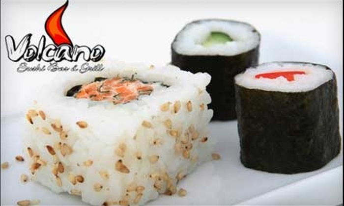 Volcano Sushi Bar - Northeast Virginia Beach: $10 for $20 Worth of Asian Fare at Volcano Sushi Bar