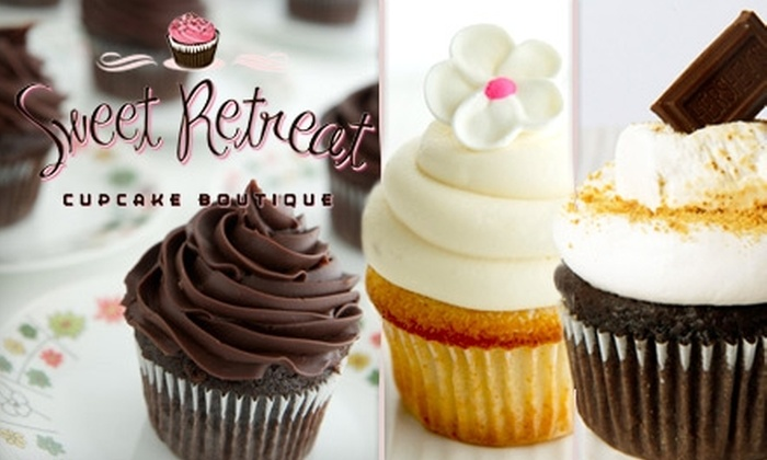 Sweet Retreat - Edina: $17 for a Dozen Cupcakes from Sweet Retreat ($33 Value)