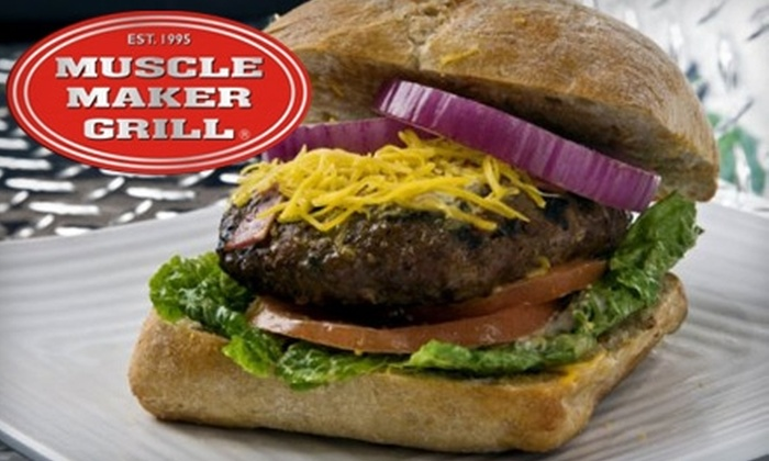 Muscle Maker Grill - East Windsor: $8 for $16 Worth of Healthy Fare at Muscle Maker Grill