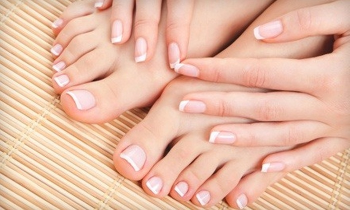 Bella Nails - Mandeville: $29 for a Traditional Manicure with Chocolate or Mojito Spa Pedicure at Bella Nails in Mandeville ($62 Value)