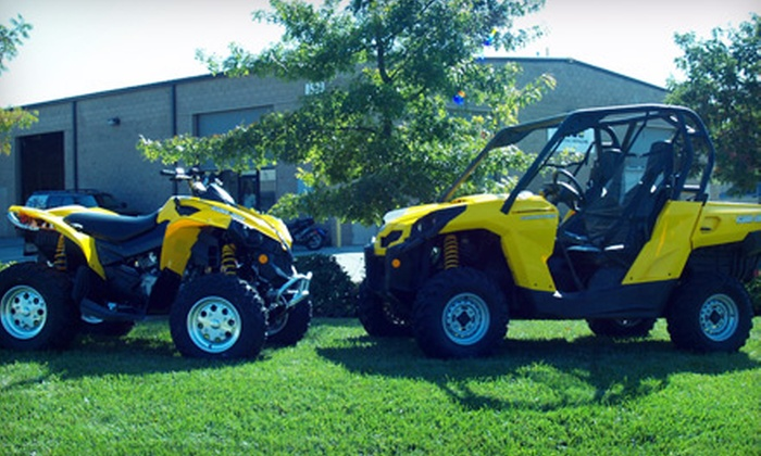 Recreational Rentals - Sacramento: 24-Hour Weekday or Weekend ATV or Commander UTV Adventure from Recreational Rentals (Up to 51% Off)