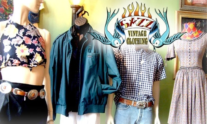 Sazz Vintage Clothing - Center City East: $10 for $20 Worth of Vintage Vestments at Sazz Vintage Clothing