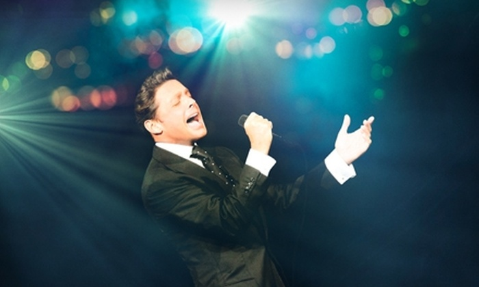 Luis Miguel at the San Manuel Amphitheatre - San Bernardino: Two Tickets to See Luis Miguel at the San Manuel Amphitheater in San Bernardino on September 11 at 8 p.m. (Up to $92 Value)