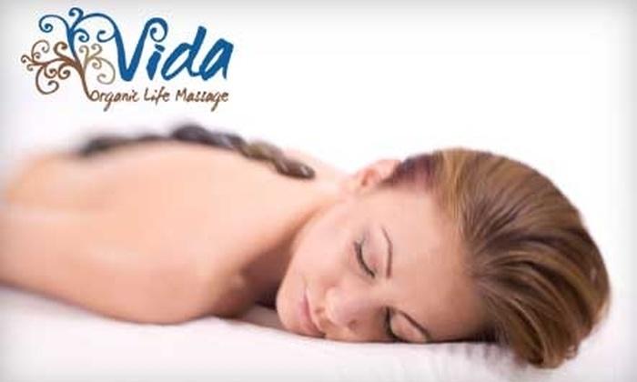 Vida Organic Life Massage - Seal Beach: $49 for One-Hour Fusion Massage or One-Hour Deep-Tissue Massage Plus Hot Stones and Reflexology at Vida Organic Life Massage in Seal Beach