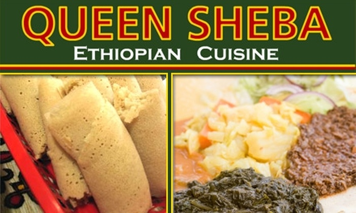 Queen of Sheba - Southwestern Sacramento: $10 for $25 Worth of Ethiopian Cuisine and Drinks at Queen Sheba