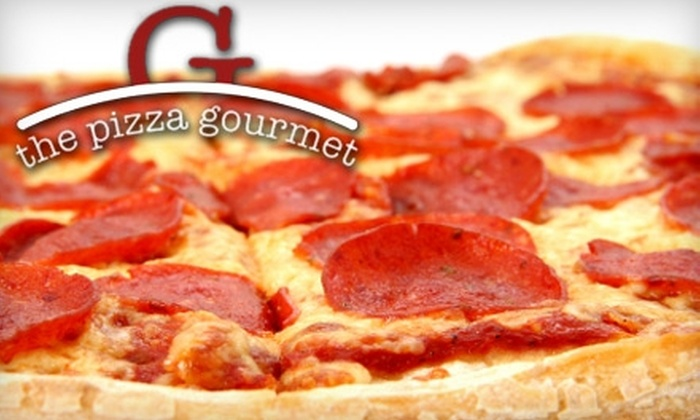 the pizza gourmet - Mt. Hope: $10 for $20 Worth of Pizza, Pasta, and Sandwiches at the pizza gourmet