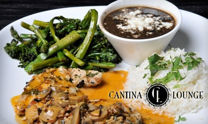 Cantina Lounge - Fullerton: $15 for $30 Worth of Mexican Fare and Drinks at Cantina Lounge (or $15 for $35 When Redeemed Monday–Wednesday)