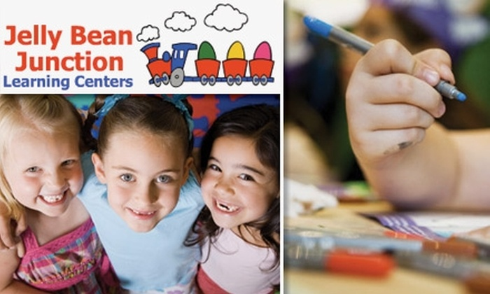 Jelly Bean Junction Learning Center - Multiple Locations: $70 for One Week of Daycare at Jelly Bean Junction Learning Center (Up to $215 Value)