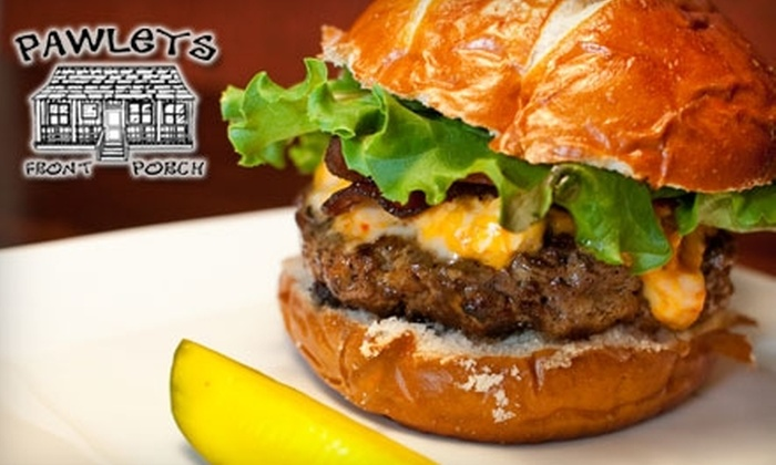 Pawleys Front Porch - Five Points: $10 for $20 Worth of Burgers, Brews, and More at Pawleys Front Porch