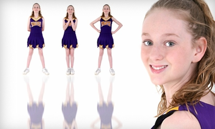 Valley Dance & Arts Academy - Stillwater: Kids' Cheerleading Classes at Valley Dance & Arts Academy. Three Options Available.