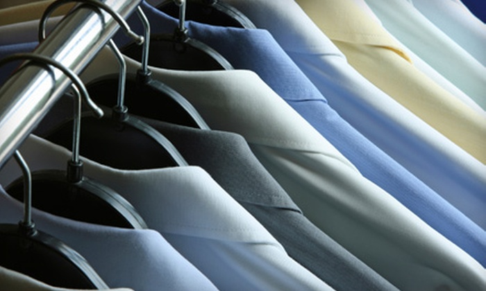 McPherson Cleaners - Multiple Locations: Dry Cleaning or Wedding-Gown Cleaning and Preservation at McPherson Cleaners (Half Off). Four Options Available.