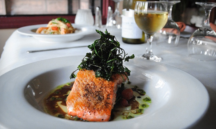 Saggio Restaurant - Downtown: $15 for $30 Worth of Tuscan Fare and Two Complimentary Drinks at Saggio Restaurant in Redwood City