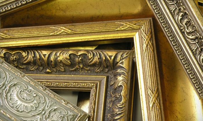 Mom & Pop's Frame Shop - Menifee: $45 for $100 Toward Custom Framing at Mom & Pop's Frame Shop in Menifee