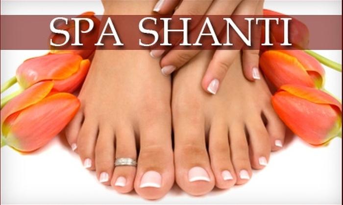 Spa Shanti - Johnston: $30 for a Mani-Pedi at Spa Shanti in Johnston ($60 Value)