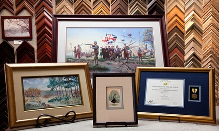 Adler's Art & Frame - Multiple Locations: $30 for $70 Worth of Framed Artwork and Framing Services at Adler's Art & Frame
