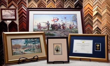 $70 Groupon to Adler's Art & Frame - Adler's Art & Frame in Kingstowne