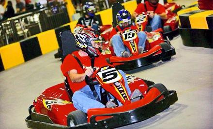 3 Indoor Go-Kart Races Redeemable Sun.-Fri. (a $59.85 value) - Pole Position Raceway  in Oklahoma City