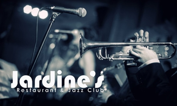 Jardine's Restaurant and Jazz Club - Southmoreland: $20 for $40 Worth of Dinner Fare, Drinks, and Cover at Jardine's Restaurant and Jazz Club