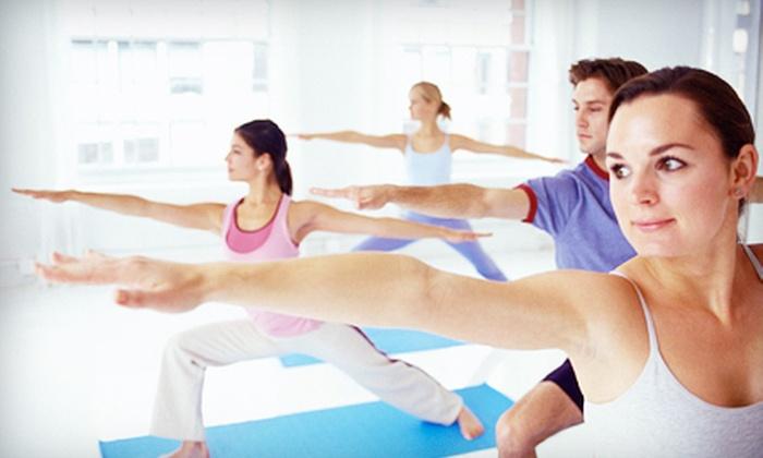 StudiOMango - Cadwalader and Hillcrest: 10, 15, or 20 Yoga Classes at StudiOMango in Pennington (Up to 87% Off)