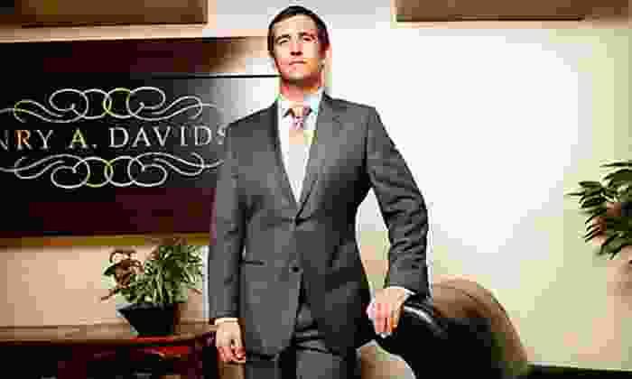 Henry A. Davidsen - Rittenhouse: Black or Blue Label Custom Suit Packages at Henry A. Davidsen (Up to 54% Off)