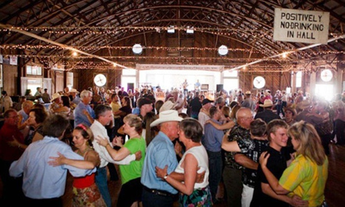 Rocky King & Dance Hall Cowboys - Spring Branch Acres: Concert Outing for Two or Four to Rocky King & Dance Hall Cowboys at Anhalt Dance Hall in Spring Branch on December 17 (Half Off)