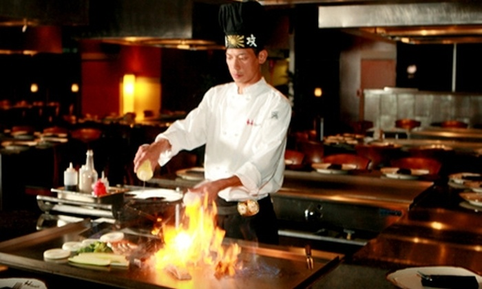 Hibashi Teppan Grill & Sushi Bar - Farmers Branch: $20 for $40 Worth of Japanese Cuisine at Hibashi Teppan Grill & Sushi Bar