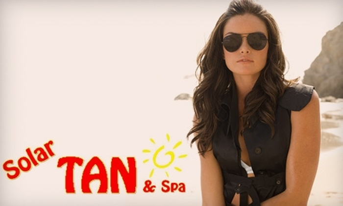 Solar Tan & Spa - Miamisburg: $25 for $50 Worth of Tanning, Spa Treatments, or Packages at Solar Tan & Spa