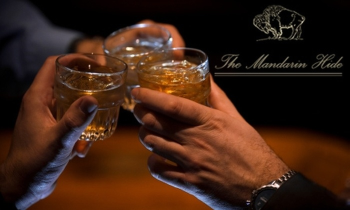 The Mandarin Hide - Downtown St. Petersburg: $12 for $25 Worth of Specialty Drinks and Spirits at The Mandarin Hide in St. Petersburg