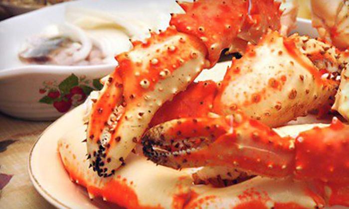J's Crabshack - Parkville: $15 for $30 Worth of Market-Fresh Seafood at J's Crabshack