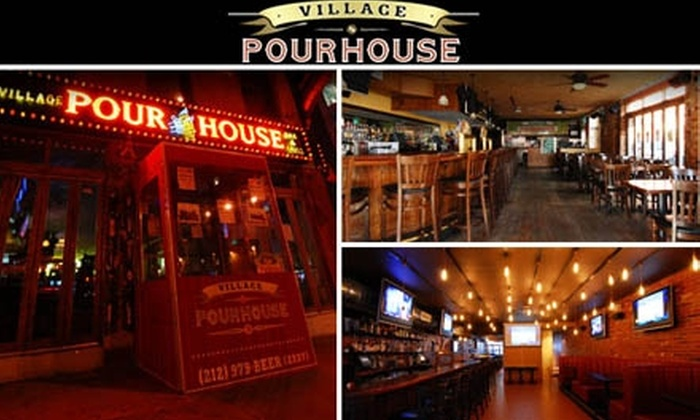 The Village Pourhouse - Greenwich Village: $15 for Two-Hour Beer 101 and Tasting at Village Pourhouse