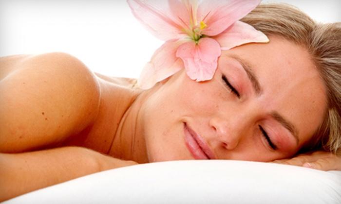 40-One Salon & Spa - Central Jersey: Half-Hour Facial and One-Hour Massage or One-Hour Facial and One-Hour Stone Massage at 40-One Salon & Spa (Up to 55% Off)