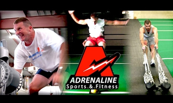 Adrenaline Sports and Fitness - Cincinnati: $15 for Three One-Hour Boot-Camp Fitness Classes at Adrenaline Sports and Fitness
