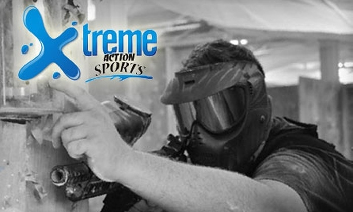 Xtreme Action Paintball - Walpole: $20 for a Basic Rental Package and Three Hours of Play at Xtreme Action Paintball ($40 Value)