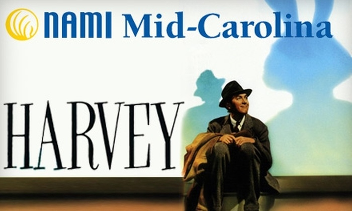 """NAMI Mid-Carolina - Downtown Columbia: $10 for One Ticket to """"Harvey"""" at Town Theatre Sponsored by NAMI Mid-Carolina on January 12 ($20 Value)"""