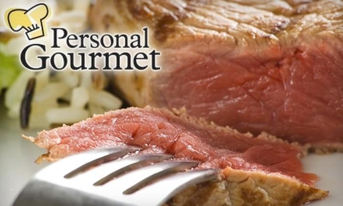Personal Gourmet - Wynnewood: $60 for Box of Filet Mignon Steaks or Alaskan King Salmon