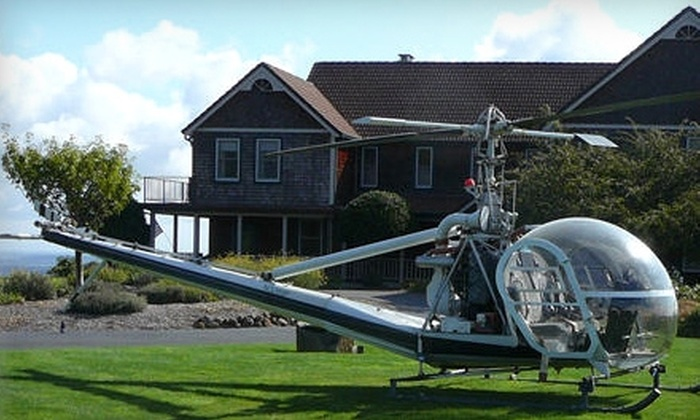 Holmes Helicopters - Newberg: Helicopter Tours for Two from Holmes Helicopters in Newberg. Two Options Available.