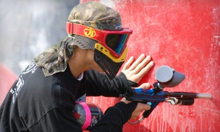 Paintball Hill - Bryantsville: $10 for Admission and Equipment Rental, Plus 50 Paintballs, at Paintball Hill (Up to $23 Value)