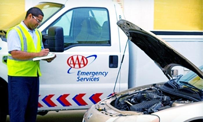 AAA Carolinas: $29 for a One-Year Basic Roadside-Assistance Membership from AAA Carolinas ($59 Value)