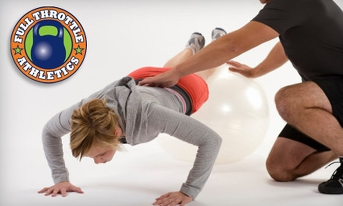 Full Throttle Bootcamp - Little Elm: $27 for a One-Phase Membership to Full Throttle Bootcamp in Frisco ($197 Value)
