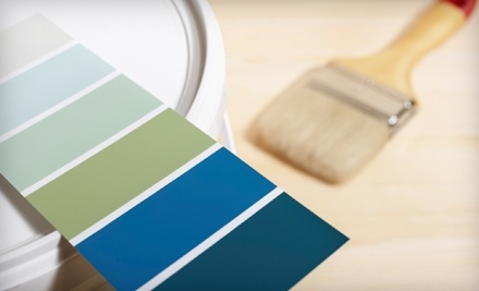 $30 Groupon to Color Wheel Paint - Color Wheel Paint in Tampa