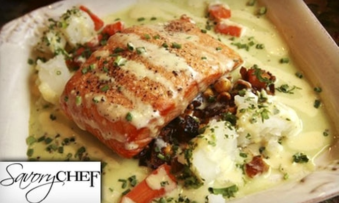 Savory Chef - Tulsa: $12 for $25 Worth of Homestyle Dinner Fare at Savory Chef