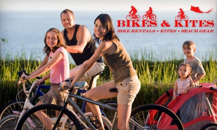 Bikes & Kites - Middletown: $25 for an Hour-Long Newport Bike Tour from Bikes & Kites