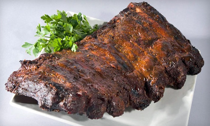 FireBox BBQ - North Lexington: Pit-Smoked Barbecue Fare at FireBox BBQ in Bedford (Half Off). Two Options Available.