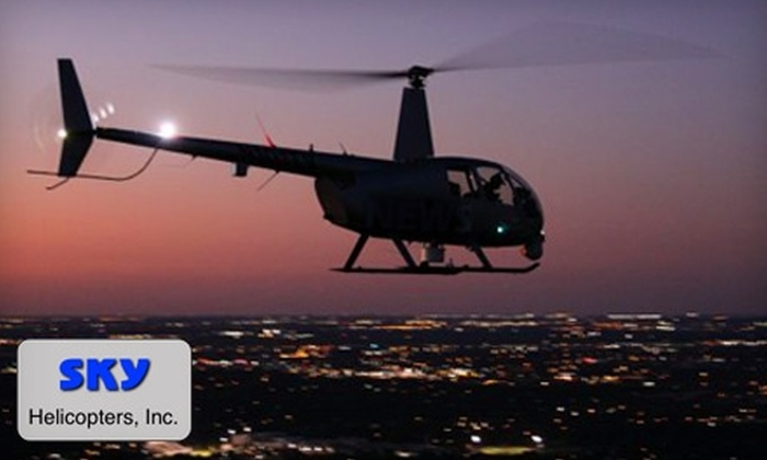 SKY Helicopters, Inc. - Garland: $199 for an Exclusive Super Bowl Experience Tour from Sky Helicopters Inc. (a $399 Value)