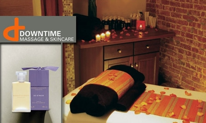 Downtime Massage & Skincare - New York City: $45 for $125 Toward Any Massage at Downtime