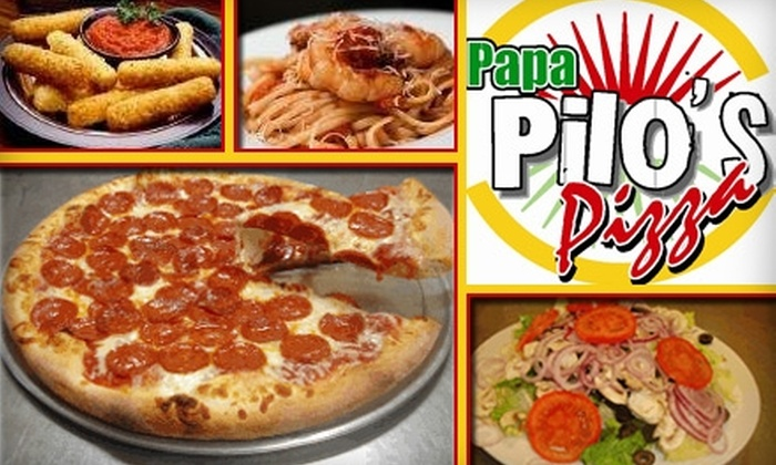 Papa Pilo's Pizza - Southwest Anaheim: $10 for $20 Worth of Fresh Pizza at Papa Pilo's Pizza