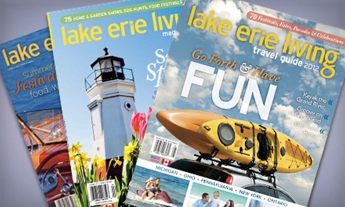 """Lake Erie Living"" - Detroit: Two- or Three-Year Subscription to ""Lake Erie Living"" (Up to 52% Off)"