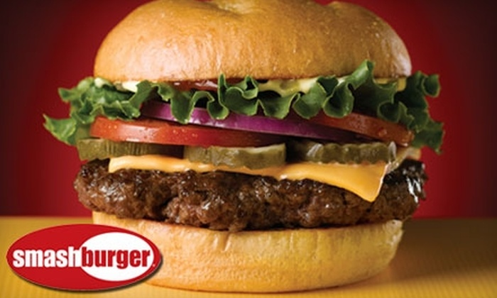 Smashburger - Multiple Locations: Smashburger $5 for $10 Worth of Burgers, Sides, Salads, and More at Smashburger