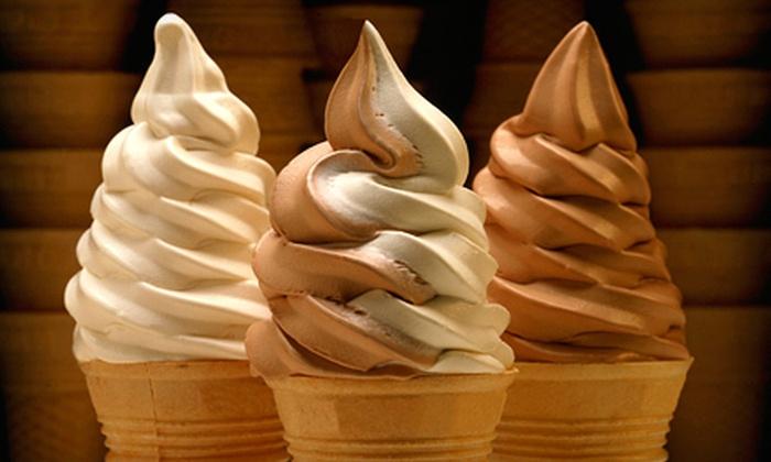 Polar Palace Ice Cream - Glencairn: Slush Shakes or Icebergs with Medium Fries for Two or Four at Polar Palace Ice Cream (55% Off)